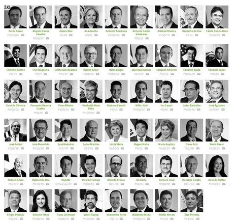 A lista completa dos 61 senadores golpistas. Jamais esqueceremos! - Viomundo - #ImpeachmentDay #Dilma | Saif al Islam | Scoop.it