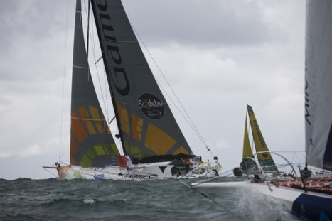iSAIL: Vendée Globe News : Savéol dismasted | #AC34 | Scoop.it