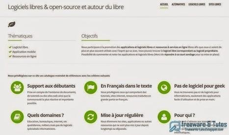 Le site du jour : cLibre, un annuaire de logiciels libres | Technologie Au Quotidien | Scoop.it