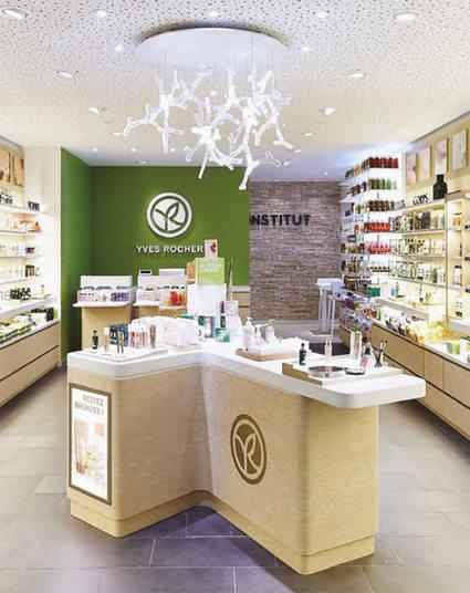 Yves Rocher teste un nouveau concept de magasin   Marketing de l'industrie de la beauté   Scoop.it