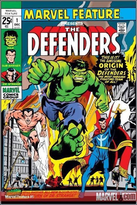 Marvel Feature (1971) #1 Presents the Defenders | GeekedMedia | Scoop.it