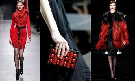 Fashion Week Breaking Trends Fall 2013: Red & Black - Accessories Magazine | Ac-socialize | Scoop.it