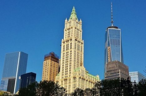 Rare peek inside New York's iconic Woolworth Building | Modern Ruins | Scoop.it