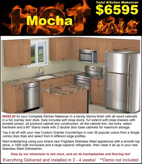 Kitchen cabinets countertops appliances showroom mesa gilbert chandler - 6595 Complete Kitchen Makeover In East Valley
