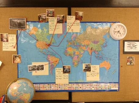 #SkypePlay #GlobalClassroom Map | IEARN | Scoop.it