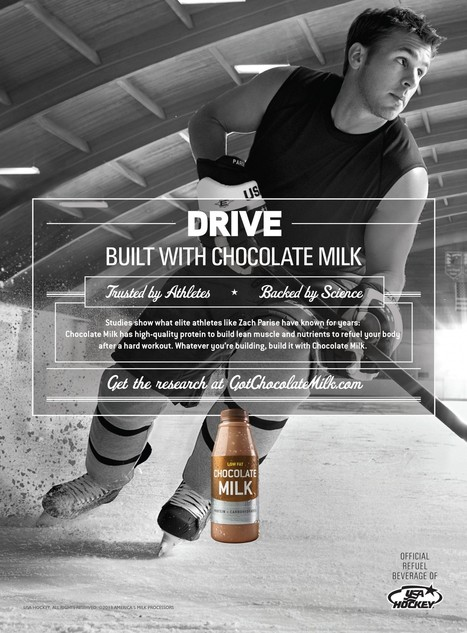 How chocolate milk went from junk food to the beverage of champions | Chocolate Milk Articles | Scoop.it