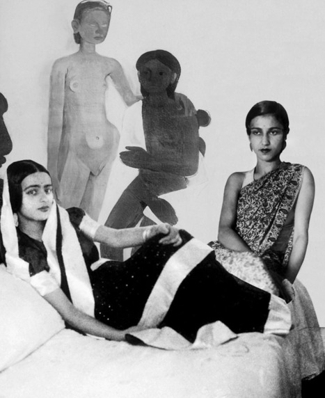 Vivan Sundaram  Re-take of Amrita | What's new in Visual Communication? | Scoop.it