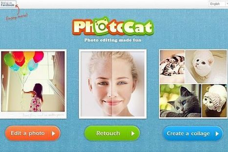 PhotoCat, divertido editor fotográfico online con numerosos filtros y efectos digitales   Apuntes sobre Alfabetización Digital   Scoop.it