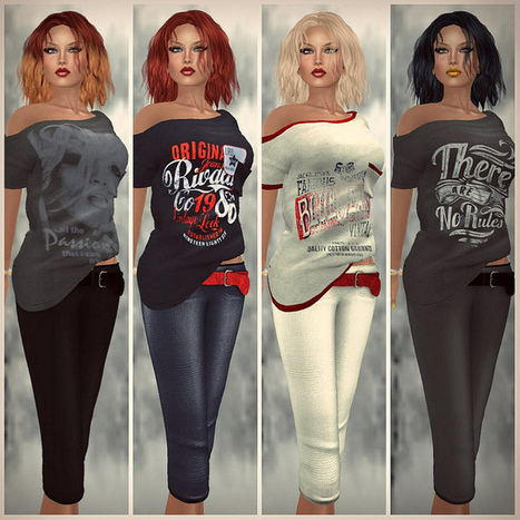 MY BIG SHIRT AND BELTED CARGO ! with hud | MIMI'S CHOICE IN SECOND LIFE | Scoop.it