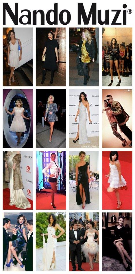 Celebrities Love Nando Muzi Shoes | Le Marche & Fashion | Scoop.it