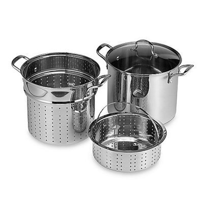 Denmark Tools for Cooks® Stainless Steel 12-Quart 4-Piece Multi-Cooker | stainless steel | Scoop.it