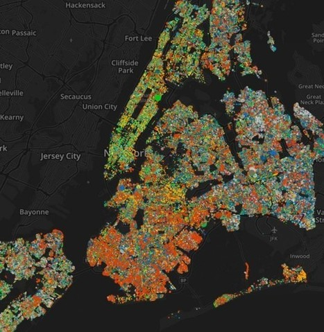 A Gorgeous Map of Every Street Tree in New York | AP HUMAN GEOGRAPHY DIGITAL  STUDY: MIKE BUSARELLO | Scoop.it