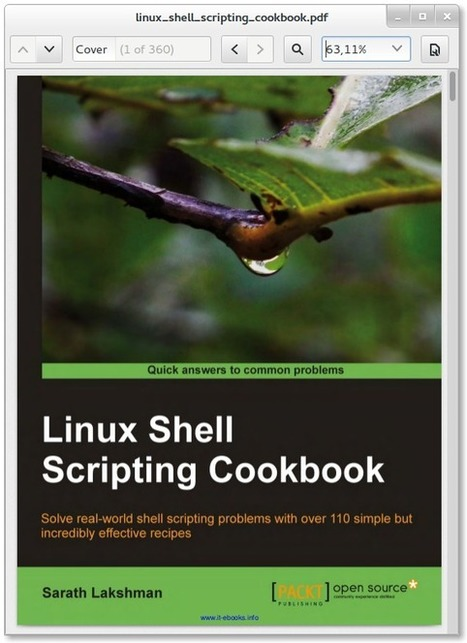 Linux Shell Scripting Cookbook en téléchargement gratuit (EN) | formation 2.0 | Scoop.it