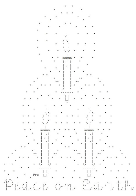 Peace on Earth | ASCII art by Pru | ASCII Art | Scoop.it