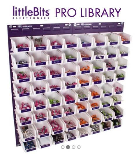 littleBits Pro Library for Schools FabLabs MakerSpaces Libraries & More   School & Learning Today   Scoop.it
