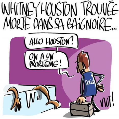 Whitney Houston trouvée morte dans sa baignoire | CRAKKS | Scoop.it