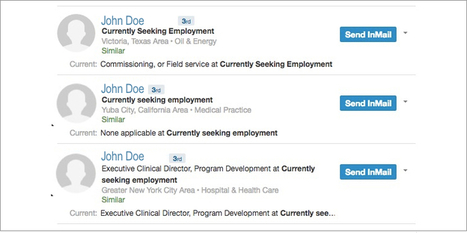 Don't Say 'Currently Seeking Employment' On LinkedIn - Forbes   All About LinkedIn   Scoop.it