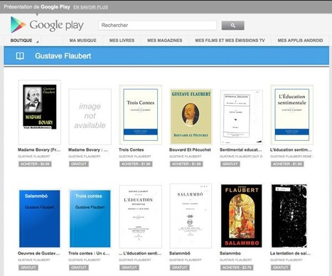 Google Play Books starts a new chapter in France | B-Gina™ TechNews Report  - up and about | Scoop.it
