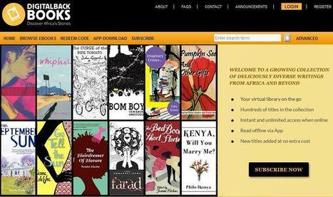Une plateforme d'offre illimitée pour ebooks dédiée à la littérature africaine | Veille & Recherche | Scoop.it