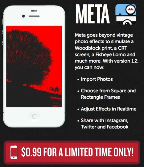 Meta - Contemporary Camera App Filters for the iPhone   Into the Driver's Seat   Scoop.it