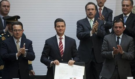 Mexican president signs education reform | Cooperation and Education | Scoop.it