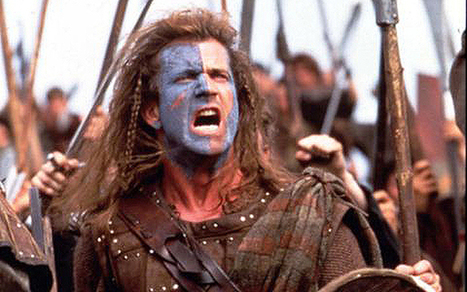 Is 'Braveheart' really the reason why more men back Scottish independence than women? - Telegraph | Referendum 2014 | Scoop.it