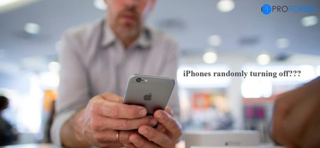 iPhones randomly turning off - Proforbes | Entertainment | Scoop.it
