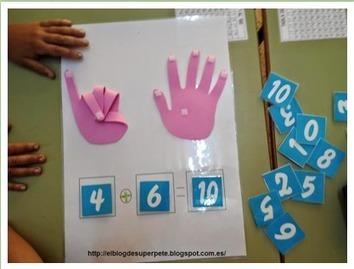 Tutorial para construir las manos de goma eva | Matemáticas para alumnado con dificultades de aprendizaje | Scoop.it