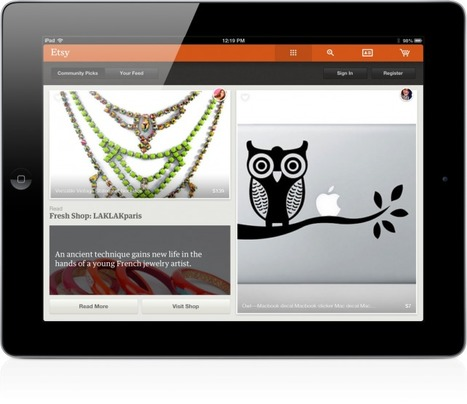 Official Etsy App Debuts On iPad | iPads in Education Daily | Scoop.it