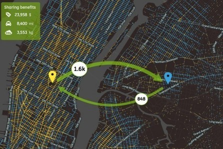 How NYC Could Revolutionize Urban Transport By Turning Its Taxi System Into A Sharing Economy - PSFK | Peer2Politics | Scoop.it
