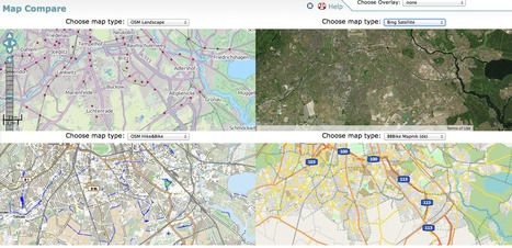 Maps - Compare maps with... Map Compare | Spatial Education and technology | Scoop.it