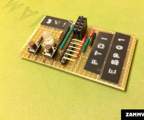 ESP8266-to-FTDI Breakout Strip Board Adapter | Arduino, Netduino, Rasperry Pi! | Scoop.it