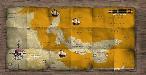 Canadian Pirate Maps | Cartographie collaborative | Scoop.it