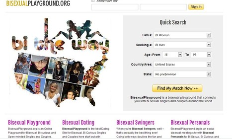 Playground for bisexual,bicurious chat and hook up with | Bisexual Community | Scoop.it