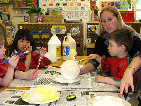 Art – an opportunity to develop children's skills — Better Kid Care (Penn State Extension) | kinderart | Scoop.it