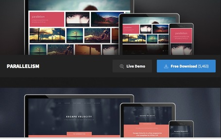 HTML5 Up! Responsive HTML5 and CSS3 Site Templates | Digital Delights - Images & Design | Scoop.it