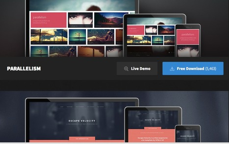 HTML5 Up! Responsive HTML5 and CSS3 Site Templates | Web Design | Scoop.it