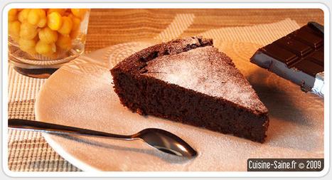 Gâteau au chocolat & pois chiches | sosophie | Scoop.it