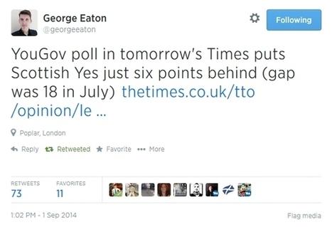 A surprising development | Referendum 2014 | Scoop.it