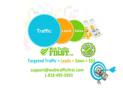How Targeted Traffic can help you grow your business. | Web Traffic First | Scoop.it