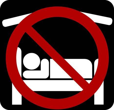 Debout là-dedans ! Une bibliothèque canadienne interdit à ses usagers de dormir dans l'établissement | Trucs de bibliothécaires | Scoop.it