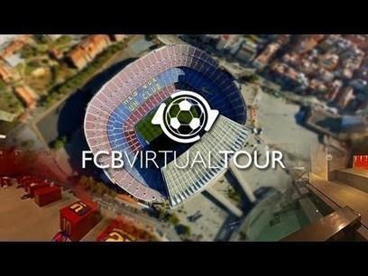 Avec FCB Virtual Tour, visitez le Camp Nou de chez vous | Coté Vestiaire - Blog sur le Sport Business | Scoop.it