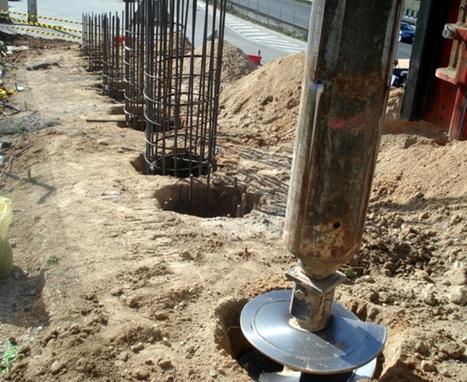 Construcción de cimentaciones en puentes   INGENIERIA CIVIL   Scoop.it