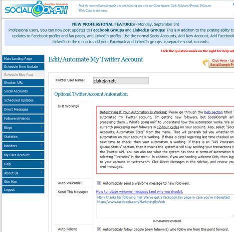 My Top Five Twitter Tools 2012 | SM4NPTwitter | Scoop.it