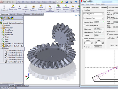 Solidworks GearTrax | CamTrax | solidworks simulation | Solidworks Add-Ons | 3-D Product Design & SolidWorks vendor in Singapore | Scoop.it