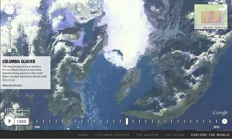 Google Timelapse Reveals Earth's Changes Over Almost Three Decades - Science World Report | GoPro Fun | Scoop.it