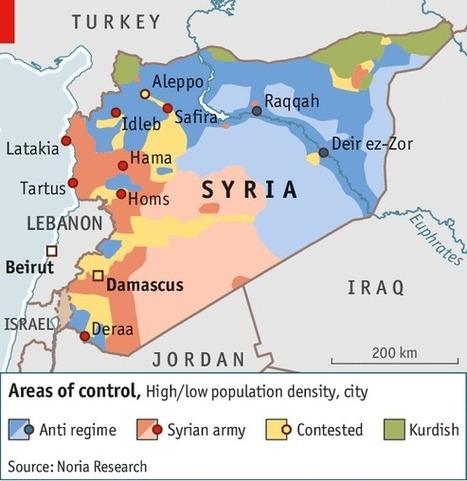 Syrie, cartographie d'une guerre : représenter l'espace des conflits | ECS Géopolitique de l'Afrique et du Moyen-Orient | Scoop.it