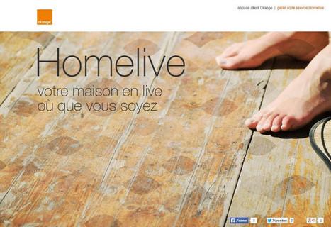 Homelive, la future offre domotique d'Orange se dévoile - Connected-Objects.fr | Soho et e-House : Vie numérique familiale | Scoop.it
