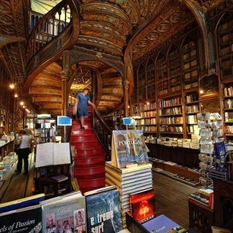 Livraria Lello bookstore, Porto, Portugal | Books and bookstores | Scoop.it