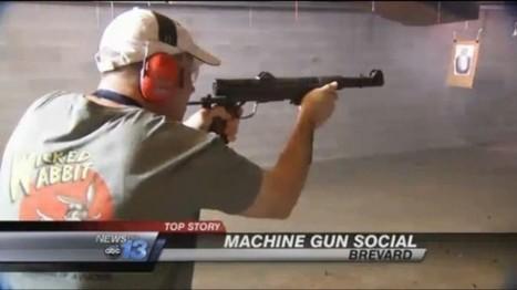 Tea party holds 'machine gun social' to fund conservative candidates | Gender, Religion, & Politics | Scoop.it